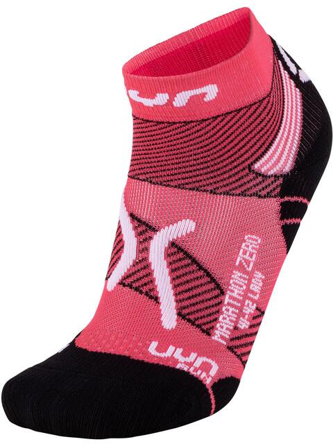 UYN Run Marathon Zero Socks Women Coral/White
